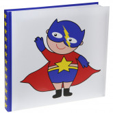 Livre d'or Super Hero Boy