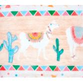 Guirlande pompon colorée