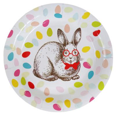 Assiette Pâquess x10