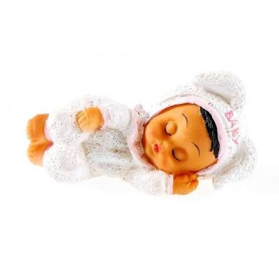 Figurine petite fille en résine