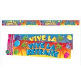 Bannière « Vive la Retraite » type