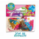 Confettis vive la la retraite type
