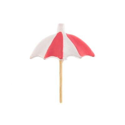 Pics parasol bleu x6
