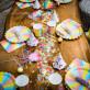 Confettis multiformes pailletés