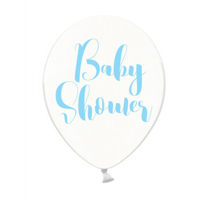 Ballon Baby shower bleu