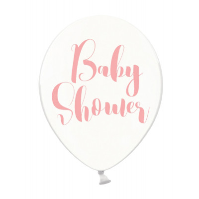 Ballon Baby shower rose