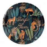 Assiettes Jungle Fever x8