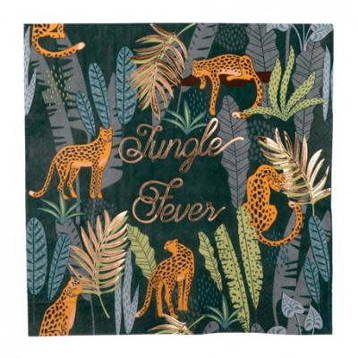 Serviettes Jungle Fever x8