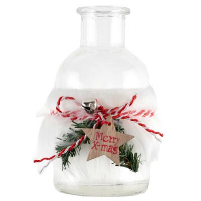 Petit vase de Noël