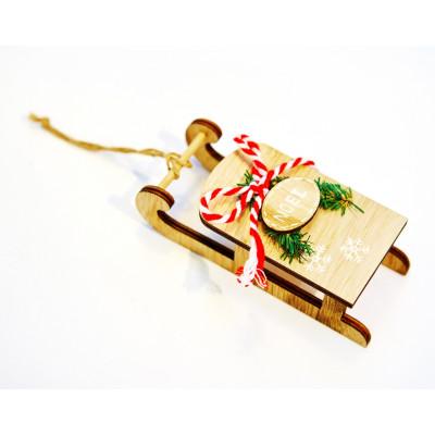 Traineau de Noël