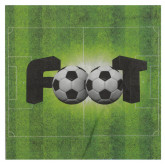 Serviette terrain de foot