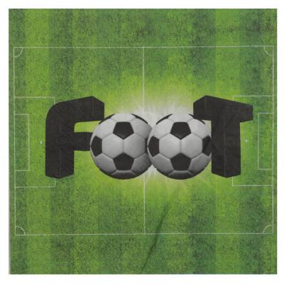 Serviette terrain de foot
