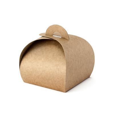 Boîtes Kraft naturelles x10