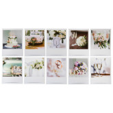 Marque-place Wedding clic x10