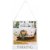 Pancarte Wedding clic Parking