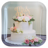 Assiette Wedding clic x10