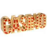 Lettres Casino lumineuses