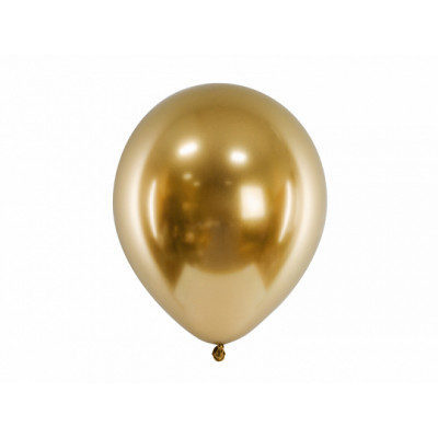 Ballon brillant argent