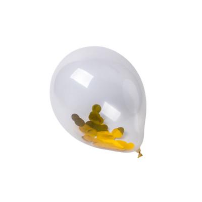 Ballon confettis or x3