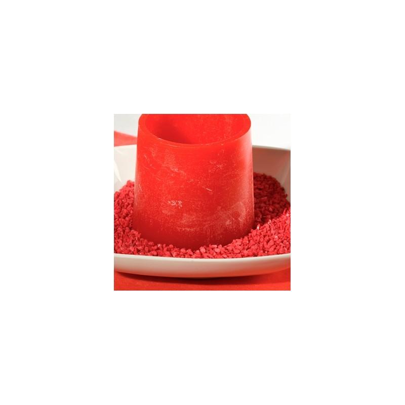 P pites d coratives rouge for Sable decoratif de couleur