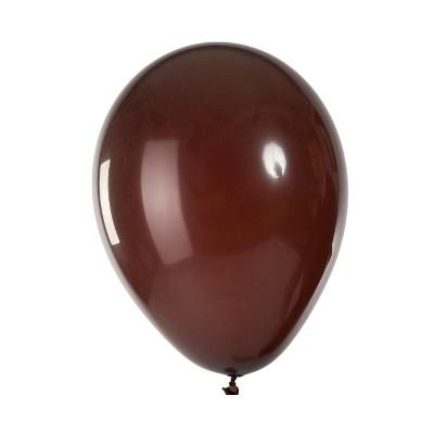 Ballons mats chocolat (x100)