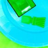 Mini cuillères de couleur (x50) vert anis