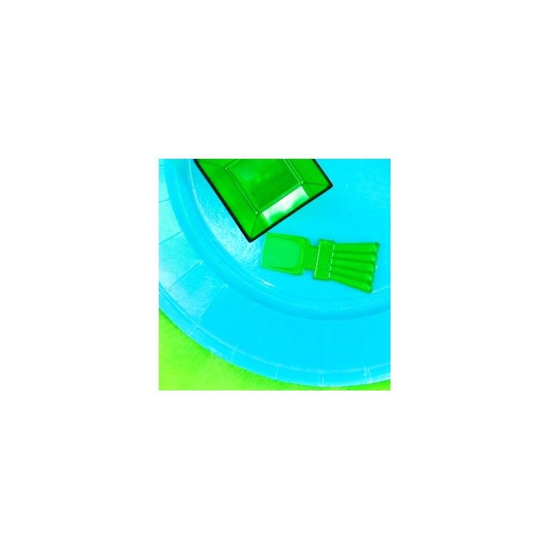 Mini cuill res de couleur x50 vert anis - Image couleur vert anis ...