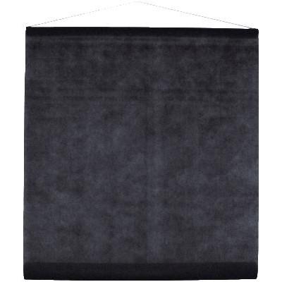 Tenture de salle en non tissé noire