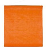 Tenture de salle en non tissé orange