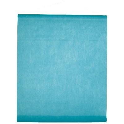 Tenture de salle en non tissé turquoise