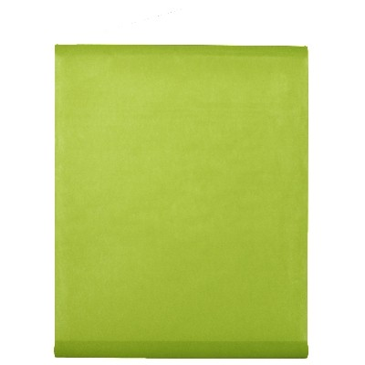 Tenture de salle en non tissé vert anis