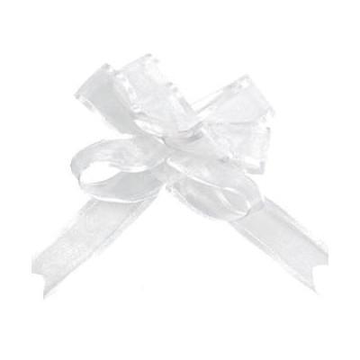 Mini noeuds blanc (x5)