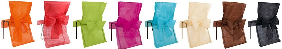 Housses de chaise - Housses chaises jetables ...