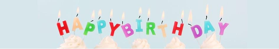 Bougie Anniversaire bougies d'anniversaire - maplusbelledeco