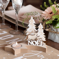Decoration Noel Table De Fete Reveillon Nouvel An Et Noel
