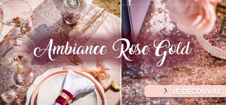 Ambiance déco rose gold