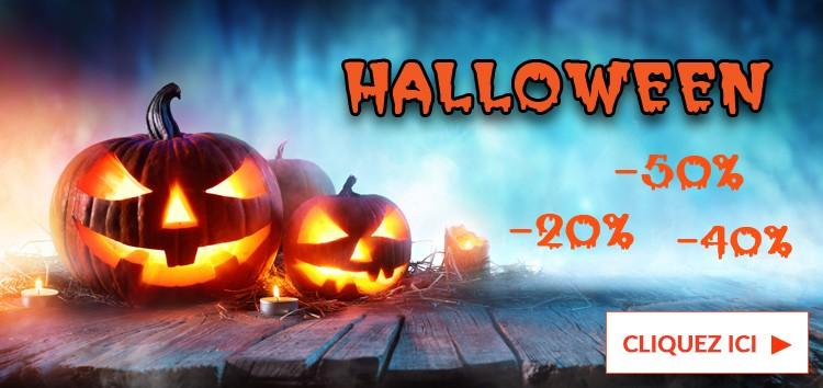 Super promos d'Halloween !!