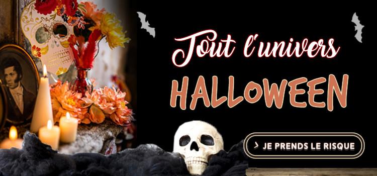 Découvrez tout l'univers glaçant Halloween 2018