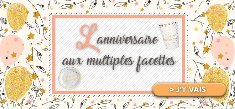 L'anniversaire aux multiples facettes